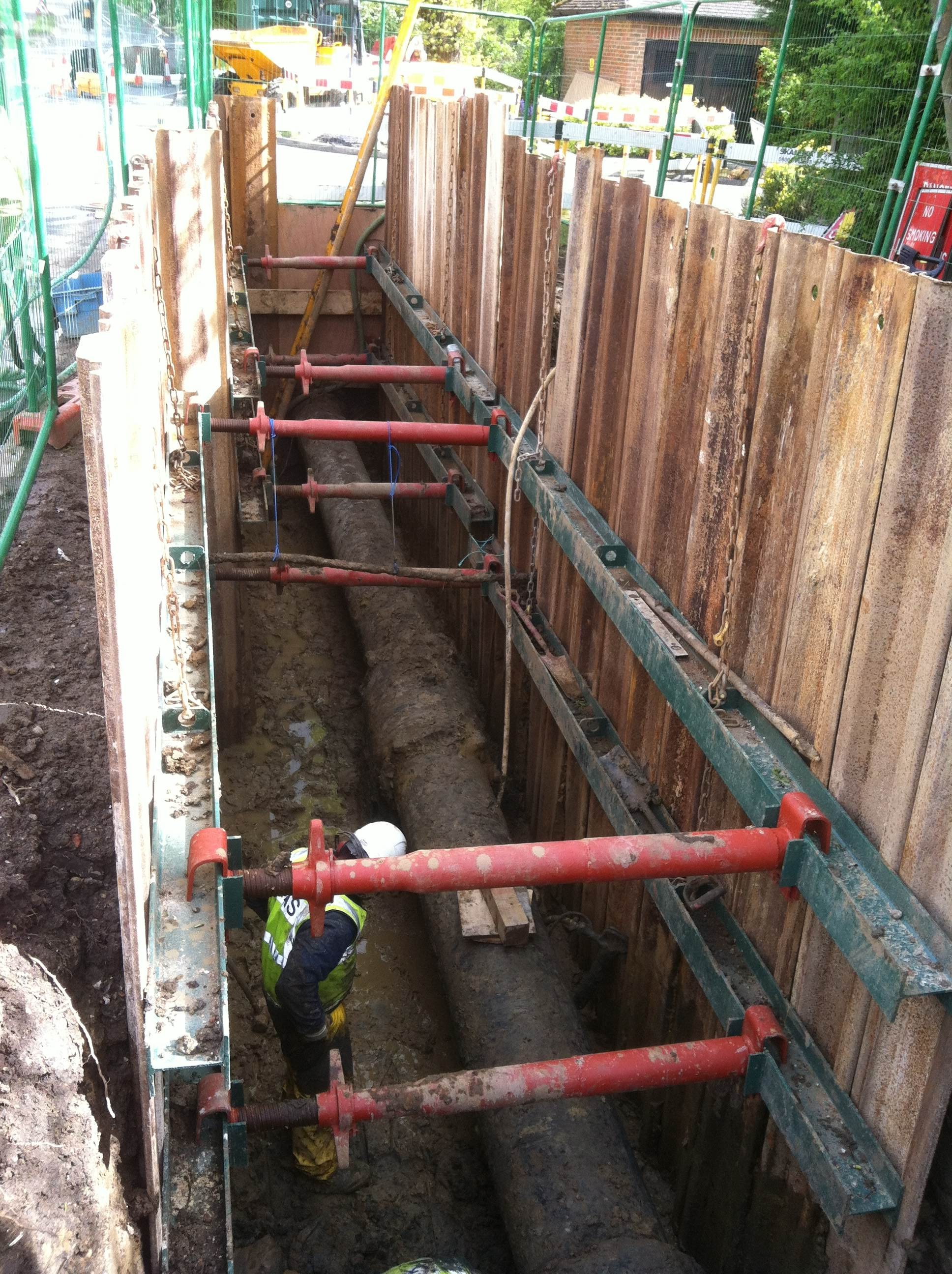 Hands On Skills Trench Support Deep Excavation Eusr